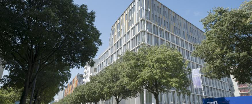 Immeuble green office dans le quartier gerland lyon - Liste cabinet architecte lyon ...